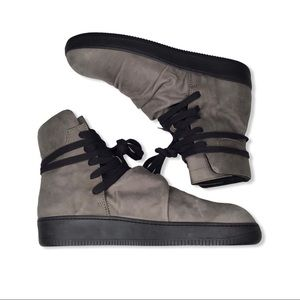 Alexandre Plokhov Creased High Top Trainers.